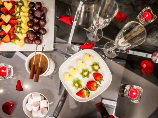 szampan i fondue pakiet deluxe